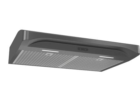 ALT236BLS 36″ Alta Series Convertible Under Cabinet Range Hood with 300 CFM  LED Lighting  Captur System and Deluxe Micro-Mesh Filters in Black