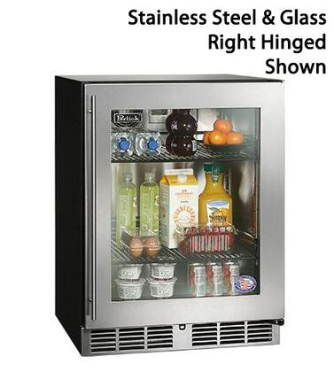 Perlick  HA24RB3L Compact Refrigerator Stainless Steel, 1