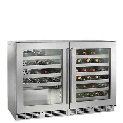 Perlick  HP48WWS3L3R Wine Cooler 76 Bottles and Above Stainless Steel, 1