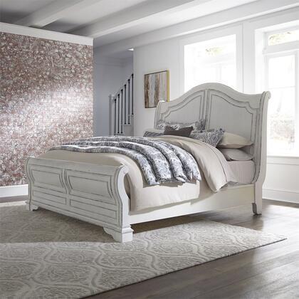 Liberty Furniture Magnolia Manor 244BRKSL Bed White, 244 br ksl