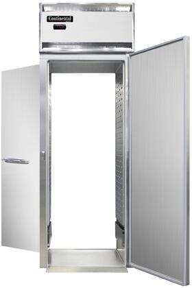 Continental Refrigerator Designer Line DL1WISARTE Commercial Food Warmer Stainless Steel, DL1WI-SA-RT-E Roll-Thru Warmer