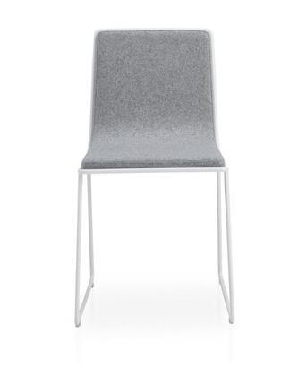 Bleecker Collection 100-BT-23-C-W-CUZ1E Chair in Grey &