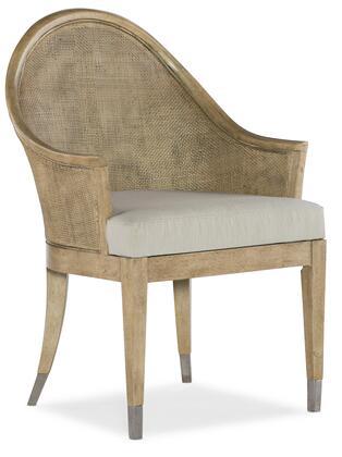 Hooker Furniture Novella 59407550080 Dining Room Chair Beige, Silo Image
