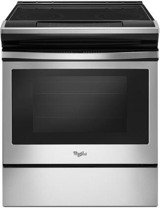 Whirlpool WEE510S0FS Slide-In Electric Range Stainless Steel, Main Image