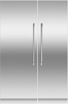 Fisher Paykel  966310 Column Refrigerator & Freezer Set Stainless Steel, 1