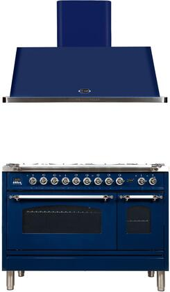 Ilve  1311498 Kitchen Appliance Package Blue, Main Image