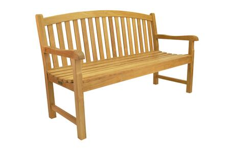Anderson Chelsea BH005R Patio Bench Brown, BH-005R Main
