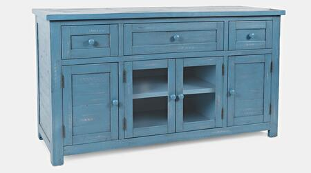 American Folklore Collection 1877-60  Accent Chest – Antique Blue in