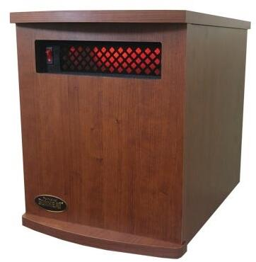 Sunheat International  USA1500MCHERRY Heater Brown, Main Image