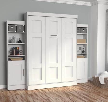 Bestar Furniture 7088317 Bed, bestar edge white 70883 17 room 1