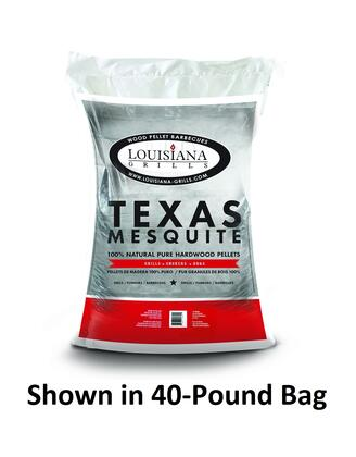 Louisiana Grills 55208 Other Grill Accessories, Texas Mesquite 20 Pound  Bag