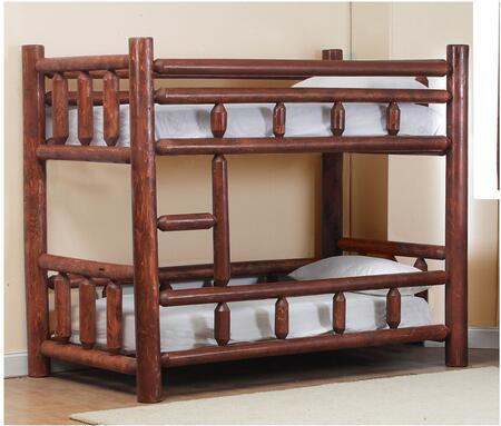 Chelsea Home Furniture Chilmark 8520023838PEC Bed Brown, 85200-23838-PEC  Front