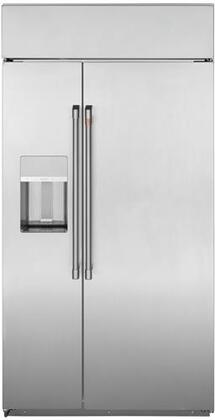 Cafe  CSB42YP2RS1 Side-By-Side Refrigerator Stainless Steel, CSB42YP2RS1 Side by Side Refrigerator