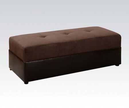Acme Furniture Lakeland 015777 Living Room Ottoman, 1