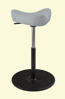 Varier Move Small MOVESMALL2700HALLINGDALE130BLKSMBLK Office Stool, Main Image