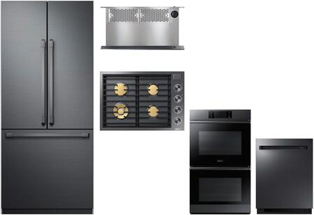Dacor  1056956 Kitchen Appliance Package Graphite Stainless Steel, main image