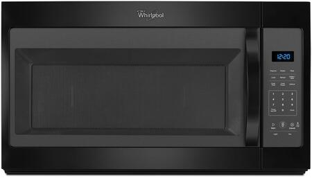 Whirlpool WMH31017FB Over The Range Microwave Black, Main Image