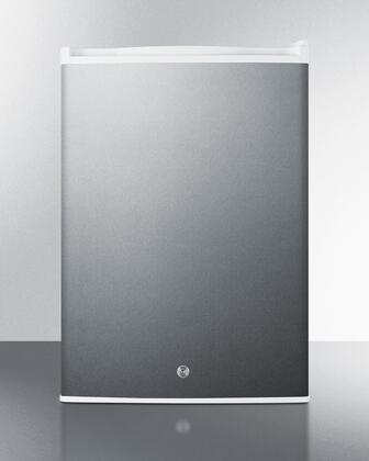 Summit  FF31L7SS Compact Refrigerator Stainless Steel, Main Image