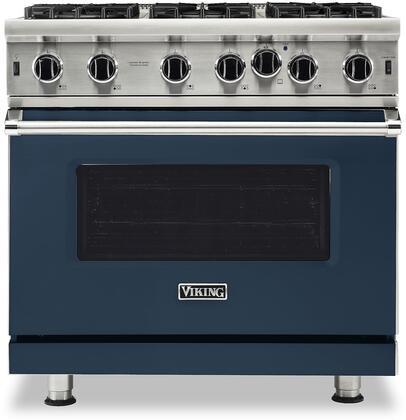 Viking 5 Series VGIC53626BSB Freestanding Gas Range Blue, VGIC53626BSB Gas Range