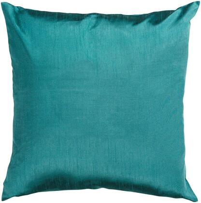 Surya Solid Luxe HH0411818D Pillow Green, hh041 1818