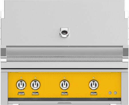 Hestan GSBR36NGYW Natural Gas Grill Yellow, Main Image