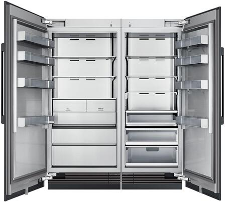 Dacor  868882 Column Refrigerator & Freezer Set Panel Ready, Custom Panels and Handles not Included