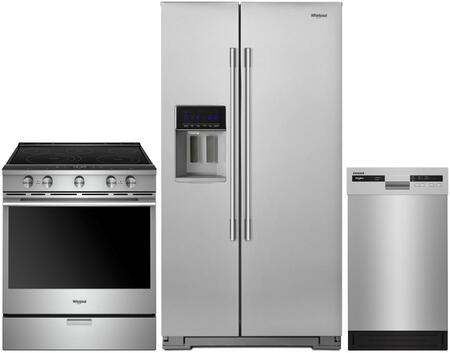Whirlpool  1009999 Kitchen Appliance Package Stainless Steel, main image