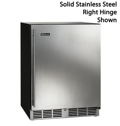 Perlick  HA24RB1L Compact Refrigerator Stainless Steel, Main Image
