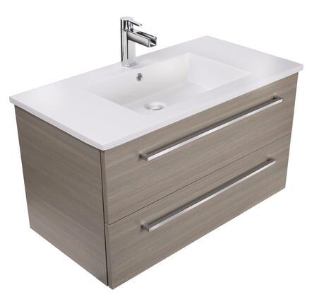 Cutler Kitchen and Bath Silhouette FVARIA30 Sink Vanity Brown, Main Image