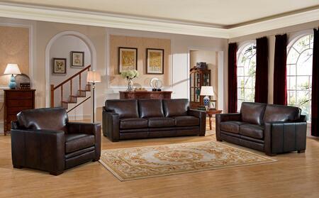 Hydeline Chatsworth CHATSWORTHSLC Living Room Set Brown, 1