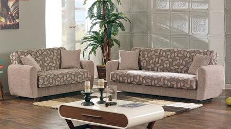Empire Furniture USA Chestnut 2 PC Set