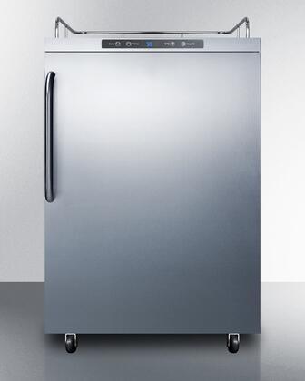 Summit  SBC635MOS7NK Beer Dispenser Stainless Steel, SBC635MOS7NK Outdoor Kegerator