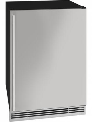 UHBV024SS01A 24″ 1 Class Stainless Steel Beverage Center with 5.7 cu. ft. Capacity  Digital Touch Pad Control  LED Lighting and Three Adjustable