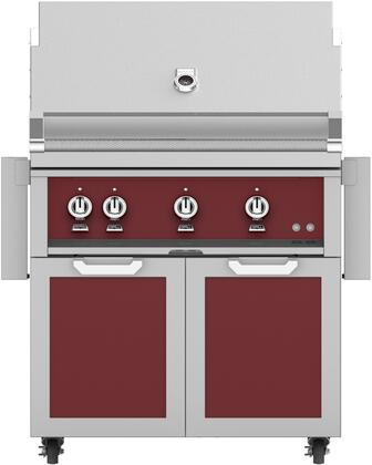 Hestan  851565 Natural Gas Grill Red, Main Image