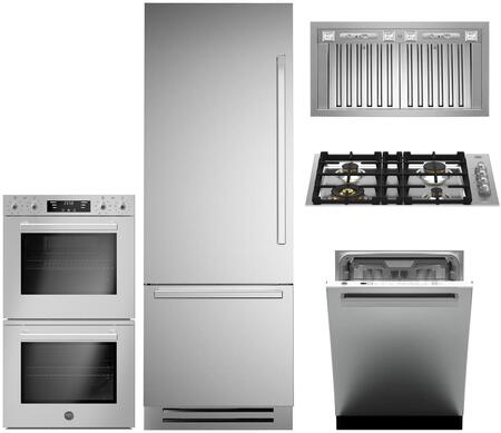 Bertazzoni 1054972 Kitchen Appliance Package & Bundle Stainless Steel, main image