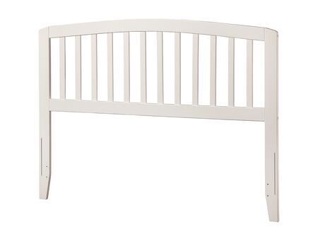 Atlantic Furniture Richmond AR288832 Headboard White, AR288832 SILO F 180