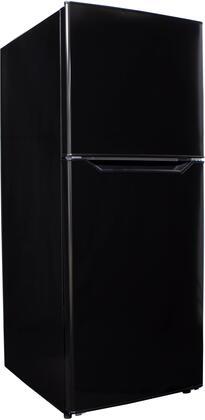 DFF101B1BDB 24″ Top Freezer Refrigerator with 10.1 cu. ft. Total Capacity  Adjustable Glass  Frost Free  Crisper  in