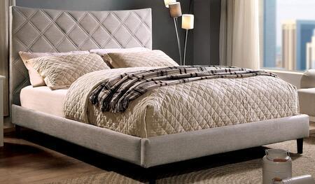 Furniture of America Estarra CM7073MSZBED Bed, 1
