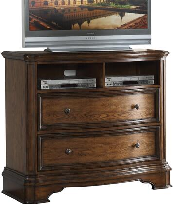 Acme Furniture Valletta 26177 42 in. to 51 in. TV Stand Brown, TV Console