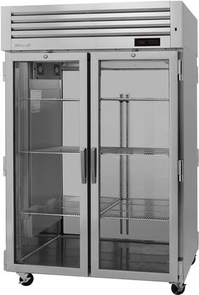 PRO-50H-G 52″ Pro Series Glass Door Heated Cabinet with 48.7 cu. ft. Capacity  Digital Temperature Control & Monitor System  Ducted Fan Air