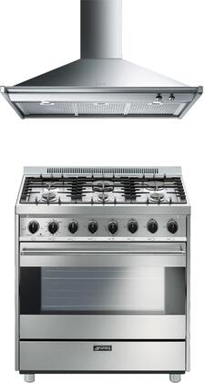 Smeg 890372 Kitchen Appliance Package & Bundle Stainless Steel, 1