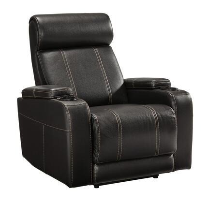 Signature Design by Ashley Boyband 2120206 Recliner Chair Black, Main Image