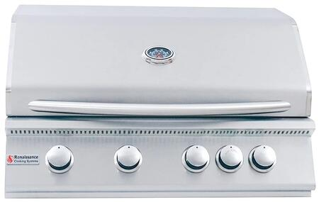 RCS Premier RJC32ALP Liquid Propane Grill Stainless Steel, Main Image