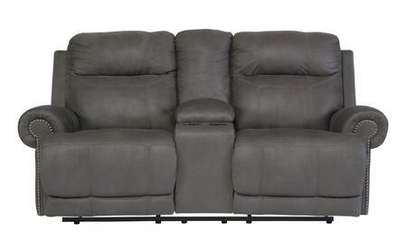 Signature Design by Ashley Austere 3840194 Loveseat Gray, Main Image