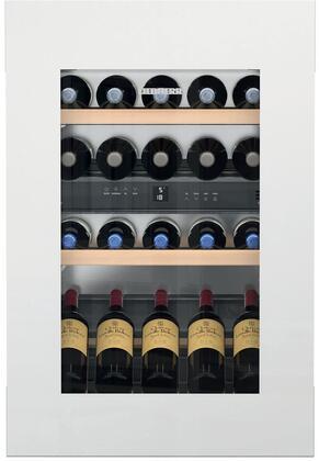 Liebherr  HWGW3300 Wine Cooler 26-50 Bottles White, HWGW3300 Built-in Wine Cabinet