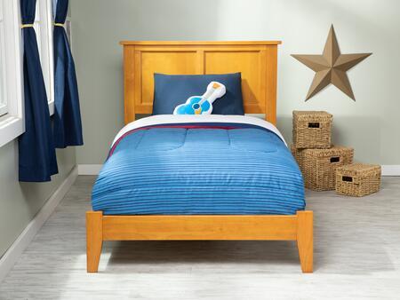 Atlantic Furniture Madison AR8611037 Bed Brown, AR8611037