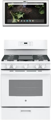 GE 1077291 Kitchen Appliance Package & Bundle White, main image