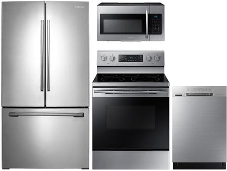 Samsung  1222931 Kitchen Appliance Package Stainless Steel, Main image