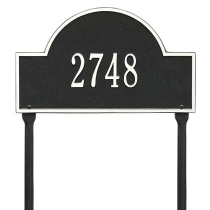 Whitehall Products 1105BW Address Plaques, Main Image