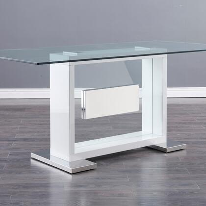 Global Furniture USA Global Furniture USA D1182DTWH Dining Room Table White, products global furniture color d1182dt   1131074325 d1182dt wh b1 (1)